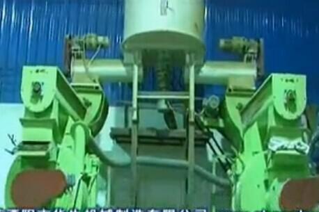 广东某客户木屑雷火官网生产线早期-华生机械